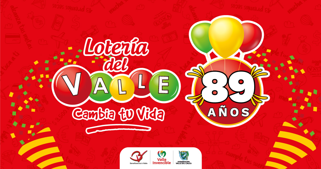 Cumpleaños Lotería del Valle