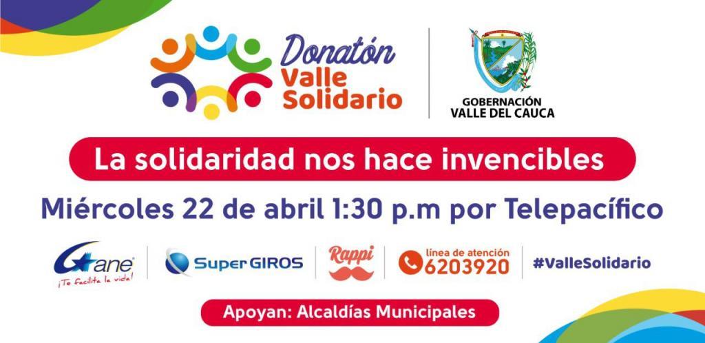 """<a href=""""/fotos/general/donaton-valle-solidario"""">Donatón Valle Solidario</a>"""