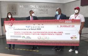 Transferencia de dinero a la Salud