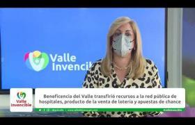 Embedded thumbnail for Beneficencia del Valle transfirió más de $34.000 millones a la red pública de hospitales