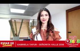 Embedded thumbnail for La Señorita Valle Gabriela Tafur, estuvo acompañándonos en el cumpleaños # 87